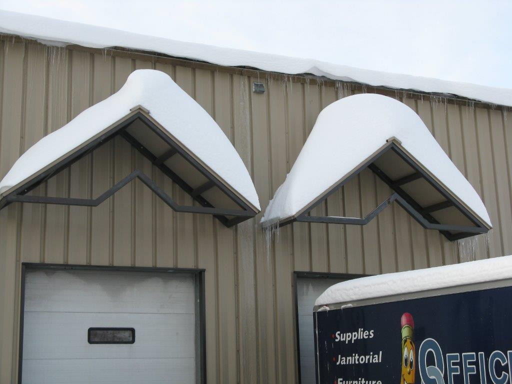 Canopies with Snow Surcharge
